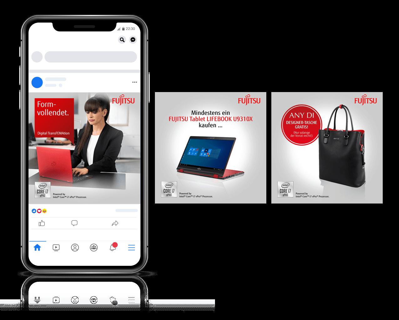 nmf Social Media Kampagne für Fujitsu