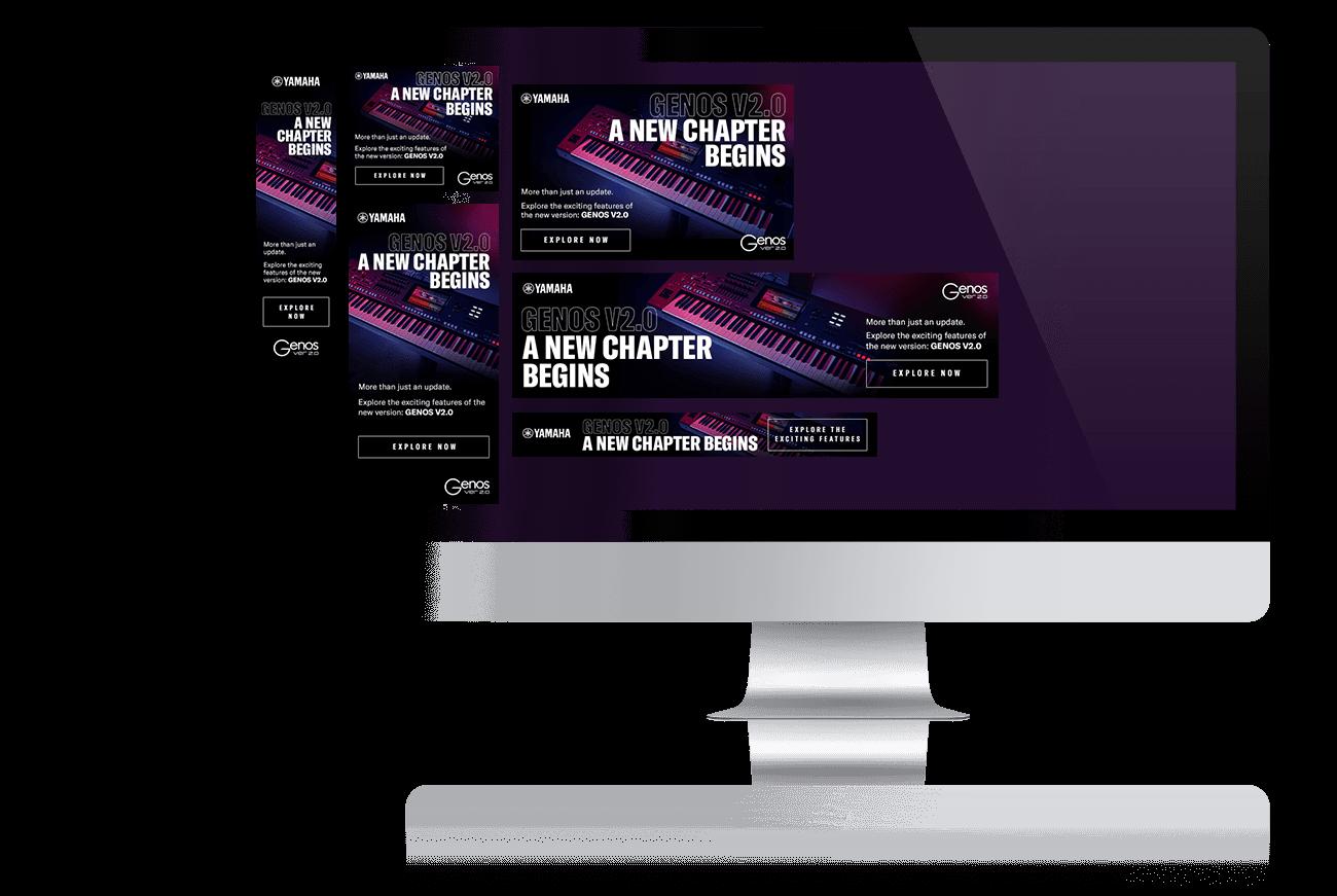nmf Online-Kampagne für Yamaha Genos